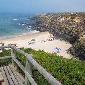 beaches in the southwest of Portugal