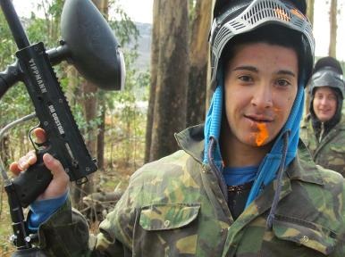 Paintball for kids, Algarve