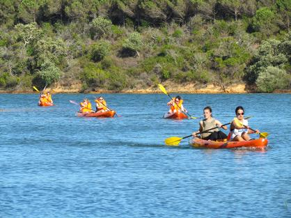 Canoeing in the Algarve