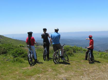 Cycling in Monchique mountains, Algarve